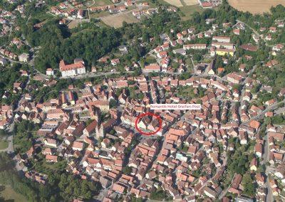 Luftaufnahme Hotel Greifen-Post