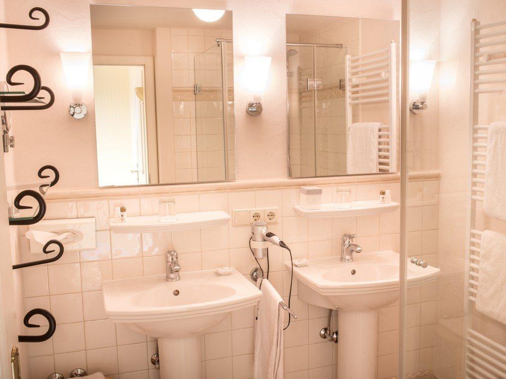 Badezimmer Hotel Greifen-Post